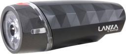 SPANNINGA Lampka przednia Lanza 20 lumenów + baterie czarna (SNG-999168)