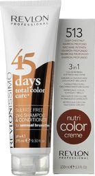 Revlon Šampūnas ir balzamas 2in1 + kaukė rudų atspalvių plaukams Revlon Professional Revlonissimo 45 Days 275 ml + 100 ml