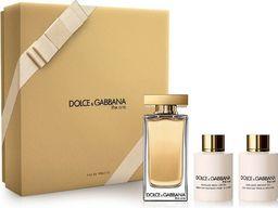 Dolce & Gabbana Zestaw The One: EDT 100 ml + balsam do ciała 100 ml + żel pod prysznic 100 ml