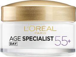 L'Oreal Paris Przeciwzmarszczkowy krem na dzień Age Specialist 55+ 50 ml