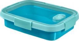 Curver Pojemnik na żywność prostokątny SMART TO GO SANDWICH 0,7L niebieski