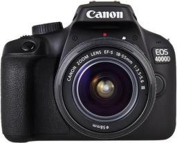 Lustrzanka Canon CAMERA DSLR EOS 4000D KIT/18-55 DC III 3011C004 CANON