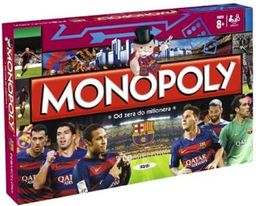 Hasbro Gra Monopoly FC Barcelona