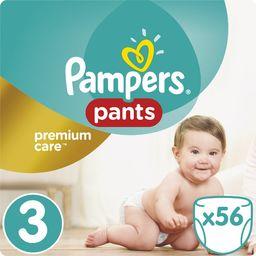 Pampers Pieluszki Premium  Pants r. 3, 6-11 kg, 56 szt.