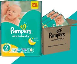 Pampers Pieluchy Active Baby Monthly Box r. 2 (4-8kg) 228 szt.