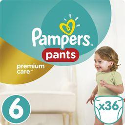 Pampers Pieluszki Premium  Pants r. 6, 15+ kg, 36 szt.