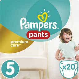 Pampers Pieluszki Premium Care Pants r. 5, 20 szt.