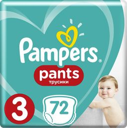 Pampers Pieluchy Pants Active Baby Giant Box r. 3 72 szt.