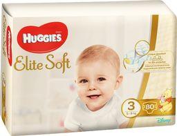 Huggies Pieluszki Elite Soft r. 3 80szt.