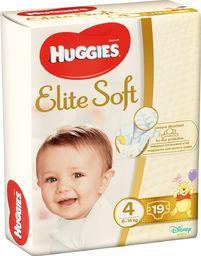 Huggies Pieluszki Elite Soft r. 4 19szt.