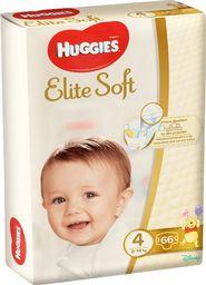 Huggies Pieluszki Elite Soft r. 4 66szt.