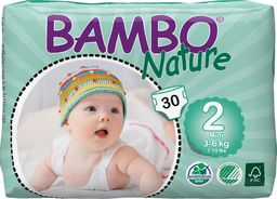 Bambo Pieluchy Nature Mini 2 3-6 kg 30szt.