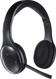 Słuchawki z mikrofonem Logitech HEADSET H800 WRL/981-000338