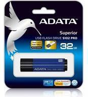 Pendrive ADATA S102 Pro 32GB (AS102P-32G-RBL)