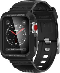 "SPIGEN SGP SPIGEN RUGGED ARMOR ""PRO"" APPLE WATCH 1/2/3 (42MM) BLACK"