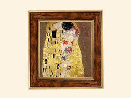Carmani Obrazek - Gustav Klimt - Pocałunek Ciemne tło (198-8104)
