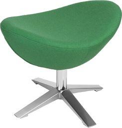 D2 Design Podnóżek Jajo Soft wełna zielony (YQ-23)