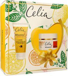 Celia Celia Witamina C 65+ Zestaw prezentowy (krem ujędrniający 50ml+maska odżywczo-liftingująca 60ml)