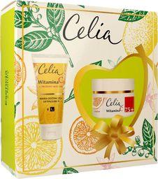 Celia Celia Witamina C 75+ Zestaw prezentowy (krem odbudowujący 50ml+maska odżywczo-liftingująca 60ml)