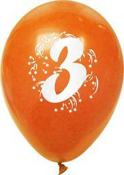 Arpex Balony pastelowe numer 3 (mix) (K7905)