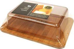 Deska do krojenia Excellent Housewares z kloszem bambusowa 20x15cm