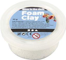 Creativ Company Foam Clay Biała Świecąca w ciemności 35g