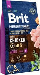 Brit BRIT Premium By Nature Adult Small S 8 kg