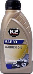 Olej silnikowy K2 Žoliapjovių alyva K2 Garden Oil Sae 30, 600 ml