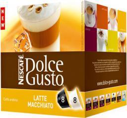 Nescafe Macchiato bez cukru (po 8 kapsułek z mlekiem i kawą) (12120283)