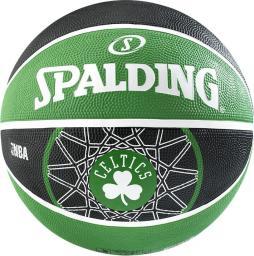 Spalding Piłka Boston Celtics czarno-zielona r. 3