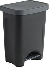 Kosz na śmieci Rotho Step Bin na pedał 25L czarny (1450408080)