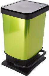 Kosz na śmieci Rotho Paso do segregacji na pedał 20L zielony (PASO 20L žalia)