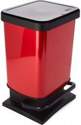 Kosz na śmieci Rotho Paso do segregacji na pedał 20L czerwony (PASO 20l raudona)