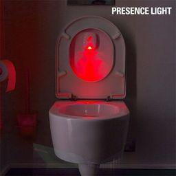 Šviestuvas tualeto dangčiui Presence Light Toiled