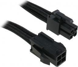 BitFenix Przedłużacz ATX12V 4-Pin 45cm - opływowy czarny ( BFA-MSC-4ATX45KK-RP )