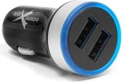 Ładowarka Extreme Ampere 2x USB 2.1A  czarna (ACC2U21SB)
