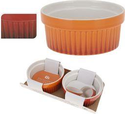 Emako Kolorowe ceramiczne miseczki, kokilki wielofunkcyjne 260 ml - 2szt