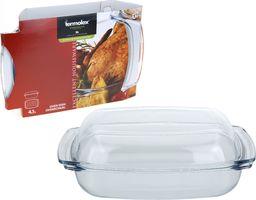 Termolex DOSKONAŁE Szklane naczynie do pieczenia, 4,1 l