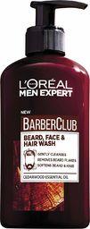L'Oreal Paris Men Expert Barber Club Żel oczyszczający do brody,włosów i twarzy 200ml