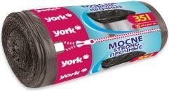 York Worki na śmieci Mocne 35L 15 szt. (5903355003465)