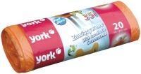 York Worki na śmieci zawiązywane 35L 20 szt. (5903355068747)