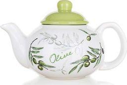 BANQUET Czajnik Olives biały 700ml