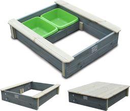EXIT Smėlio dėžė su dangčiu, EXIT Aksent (FSC Mix 100%)