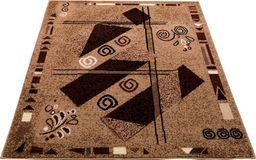 Dywan Trapez, brązowy 80x150cm (13009538)