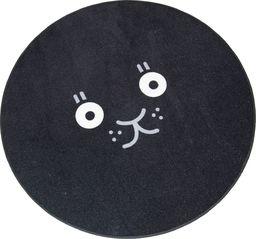 Dywan Black Cat czarny 90x90 cm