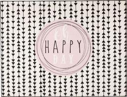 Dywan Happy Day czarno-biały 95x125 cm