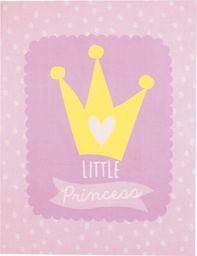 Dywan Little Princess różowy 95x125 cm