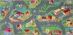 Dywan Little Village zielono-szary 100x165 cm