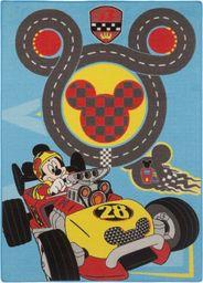 Dywan Mickey 02 niebiesko-żółty 95x125 cm