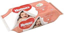 Huggies Drėgnos servetėlės HUGGIES Soft Skin, 56vnt.